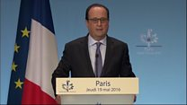 Hollande: 'We will find the truth'