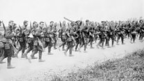 'The Battle of the Somme' with live score