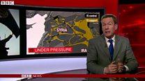 シリアのロシア軍基地近くでISが爆弾攻撃