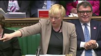 Eagle asks about 'banishing of Tory Brexiteers'