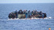 Migrant ship capsizes in Mediterranean