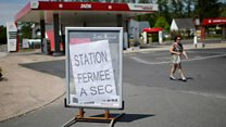 Petrol panic buying: Impacts of France strike