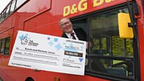 Bus driver carries on route after Lotto win