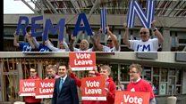 EU membership stokes Holyrood debate
