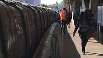 'Chaos' at station as passenger trapped