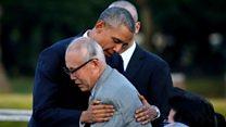 オバマ大統領 「死が落ちてきて世界が変わった」