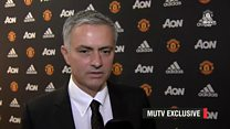 MOURINHO'S FIRST THOUGHTS ON BECOMING MAN UTD MANAGER