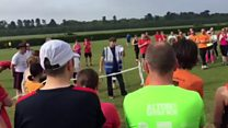 Parkrun rap takes social media by storm