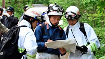 Search for seven-year-old in Japanese woods