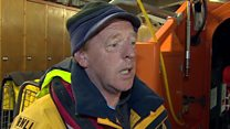 Man on rescuing Channel migrants
