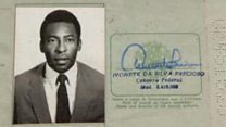 How much would you pay for Pele's passport?
