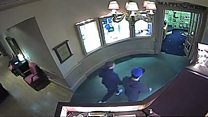 CCTV shows thwarted jewellery robbers