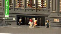 Edinburgh landmark recreated in Lego