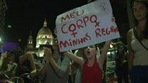 """Brazil's women take on """"rape culture"""""""