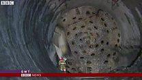 20年を経て スイスに最長の鉄道トンネル開通