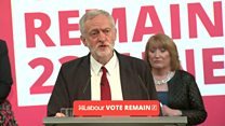 Corbyn: Austerity, not migrants, is cause of problems