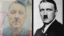 Man left 'horrified' after passport photo resembled Adolf Hitler