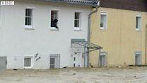 欧州各地で豪雨のため浸水 セーヌ川も警戒