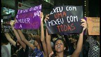 ブラジル女性たち「レイプ文化」に激しく抗議