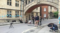 Oxford's BBC Music Day kicks off at Bridge of Sighs