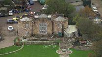 'Hidden castle' home now in ruins