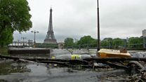 Measuring floods the Parisian way