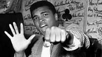 Muhammad Ali, 'bailarino' nos ringues e frasista fora deles