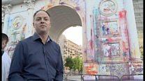 マケドニアで「カラフル革命」 政治家に不満