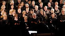 BBC Symphony Chorus: BBC Symphony Chorus at Maida Vale for Christmas