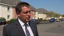 Police seek three men over Cardowan attack