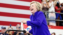 Hillary's 'historic moment'