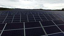 Scotland's biggest solar farm opens