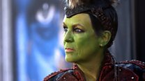 """Jamie Lee Curtis does """"Orc Chic"""""""