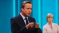 Farage v Cameron - in 60 seconds