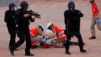 Training for Euro 2016 terror
