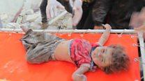 La estremecedora destrucción de Alepo causada por 600 bombardeos aéreos en 6 días