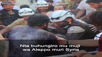 Nta buhungiro muri Aleppo