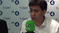 Ed Miliband: 'Blue on blue action' distracting from Labour