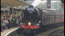 Locomotive fans warned 'off tracks'