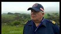 Rescuer describes aircraft search