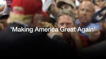Why they love Trump: 'Making America Great Again'