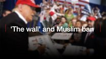 Why they love Trump: The 'wall' and Muslim ban