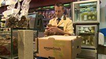 アマゾン、ロンドンで食品配達に参入