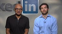Nadella: LinkedIn deal is about riding the next wave of technology