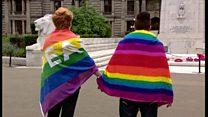 Glasgow vigil for Orlando shooting victims