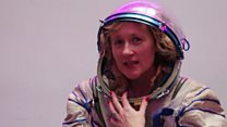 Inside Sokol re-entry spacesuit