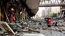 Postbox is reminder of devastating bomb