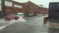 Torrential rain causes flash flooding