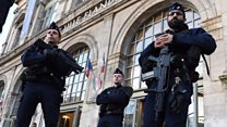 Small skirmishes amid tight security in Lille