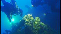 タイタニックの姉妹船 エーゲ海の沈没現場